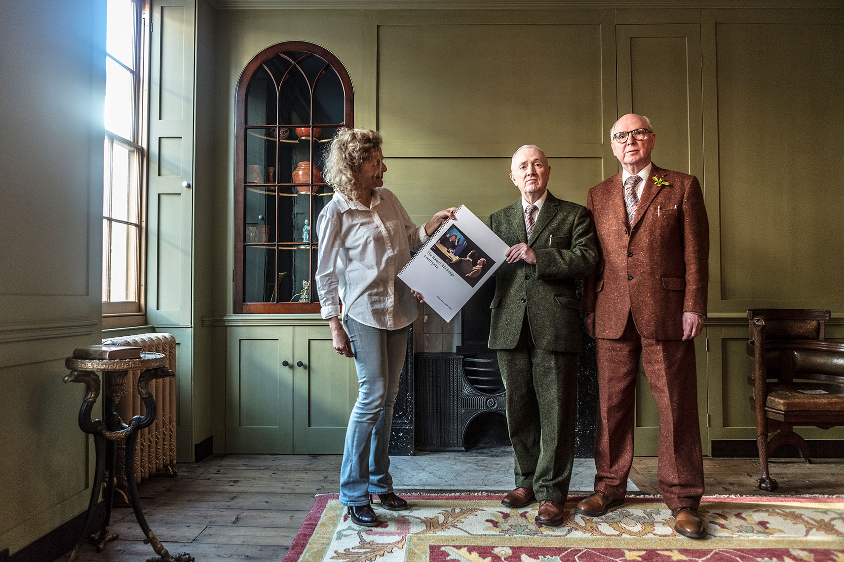 Gilbert and George get an opera