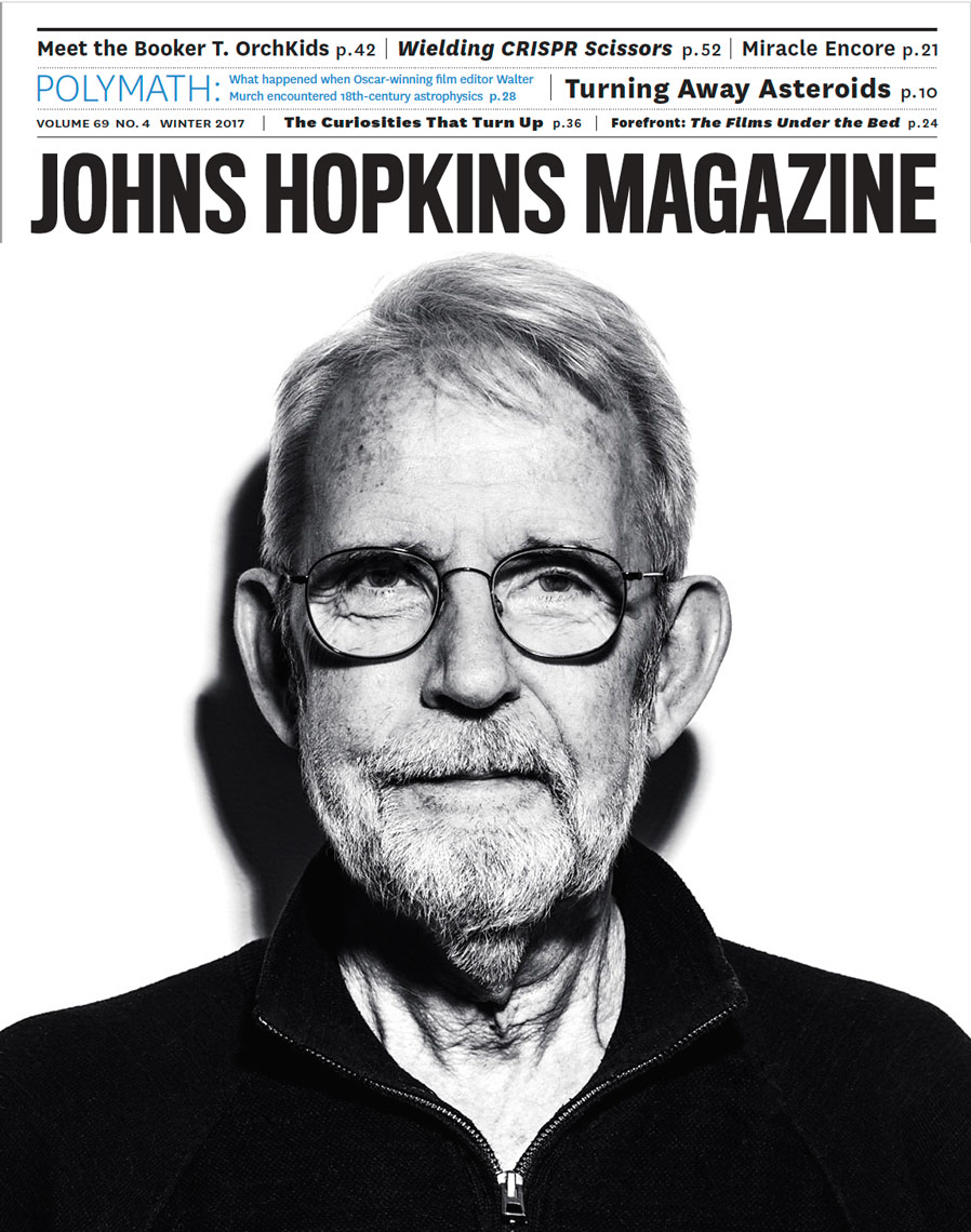 Walter Murch for John Hopkins University