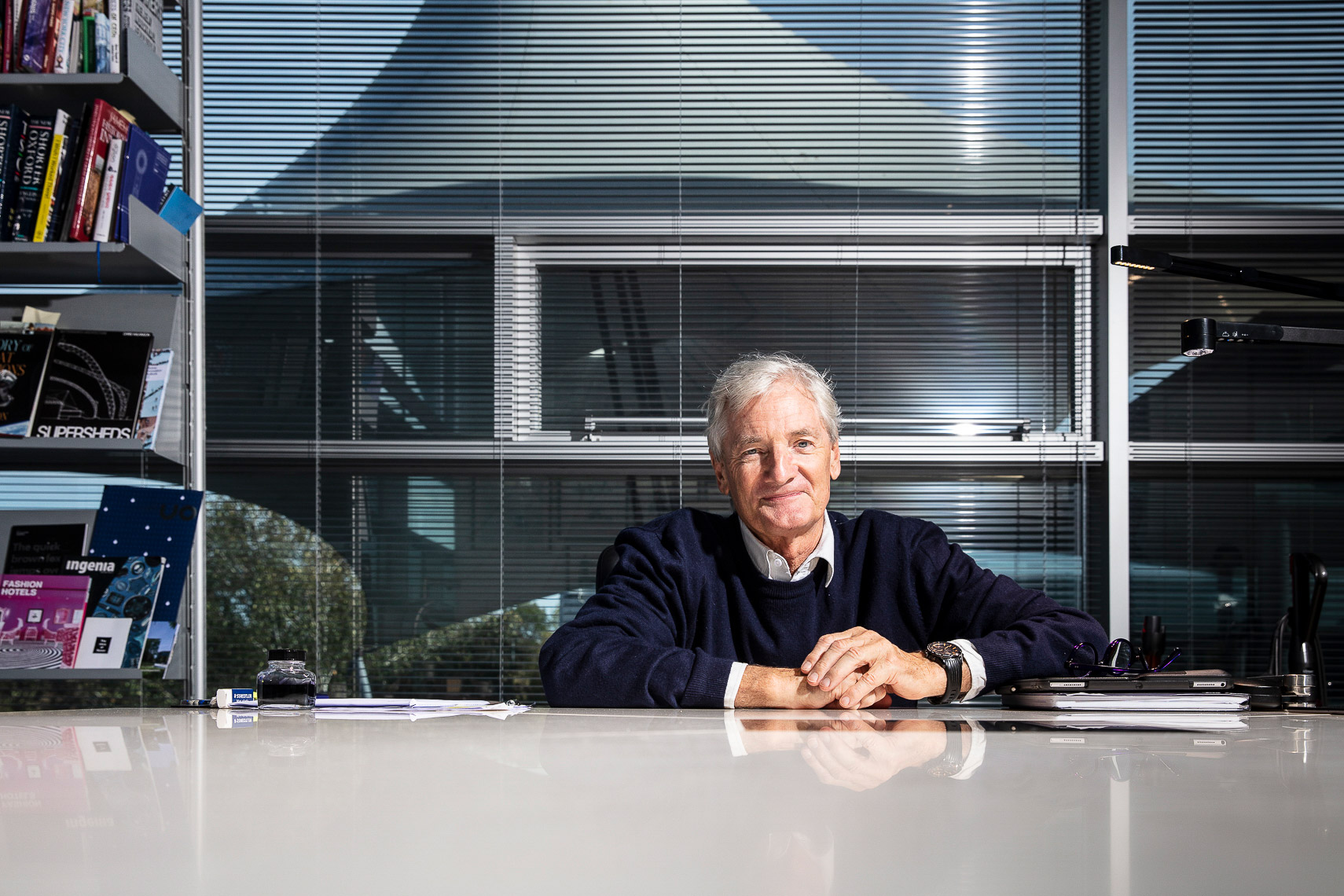 Sir James Dyson OM CBE FRS FREng
