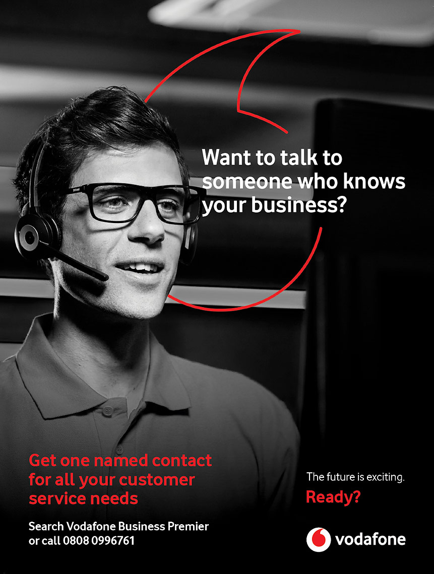 Vodafone Business Advertising